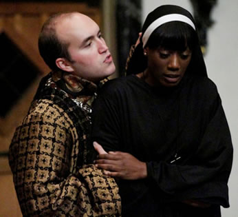 Production picture of Measure for Measure