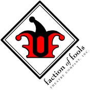 Faction of Fools Theater Company, Inc., logo
