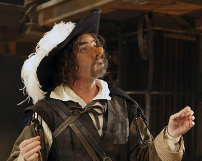 Production pic of Cyrano