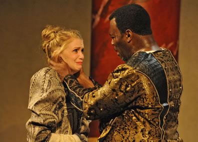 audience and desdemona Rebecca gibel as desdemona and jude sandy as othello in trinity  evoking  similar feelings of discomfort and alarm in the audience that are.