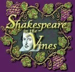 Shakespeare in the Vines logo
