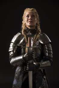 Photo of Tracie Lane as Joan of Arc