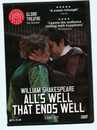 DVD cover with photo of redemptive Bertram hugging Helen