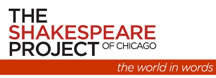 The Shakespeare Project of Chicago logo: The World in Words